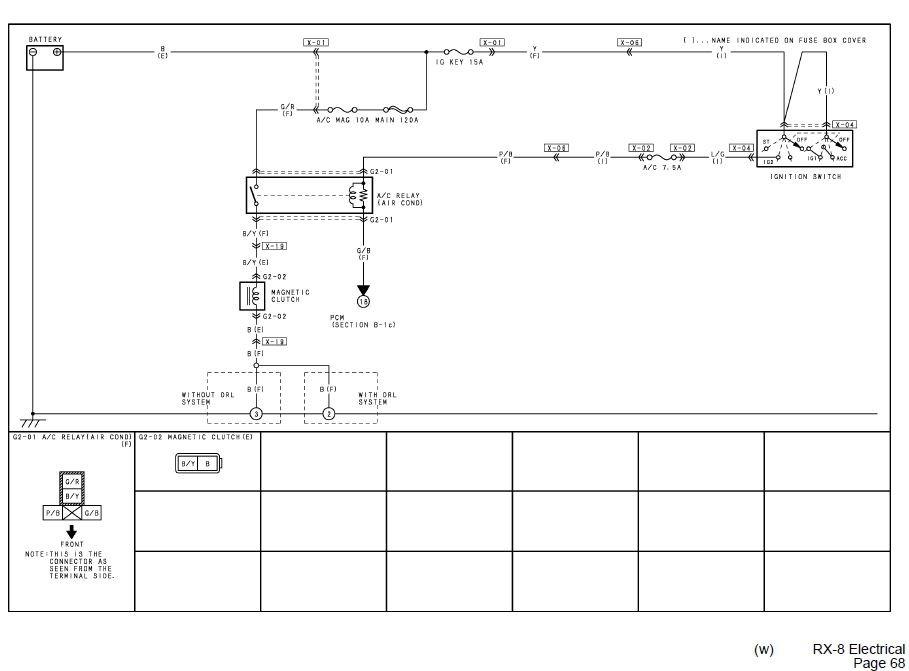 A/C compressor wiring diagram